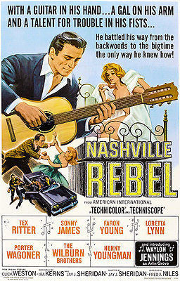 Nashville Rebel - 1966 - Movie Poster