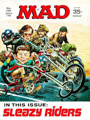 MAD Magazine #135 - June 1970 - Cover Magnet