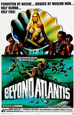 Beyond Atlantis - 1973 - Movie Poster