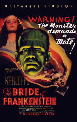 The Bride of Frankenstein - 1935 - Movie Poster