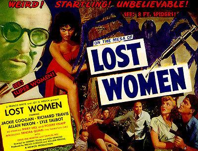 Lost Women - 1953 - Movie Poster Magnet