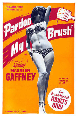 Pardon My Brush - 1964 - Movie Poster