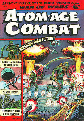 Atom-Age Combat #1 - 1953 - Comic Book Cover Poster