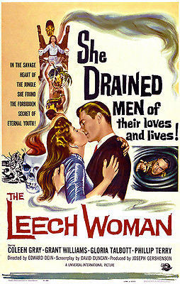 The Leech Woman - 1960 - Movie Poster