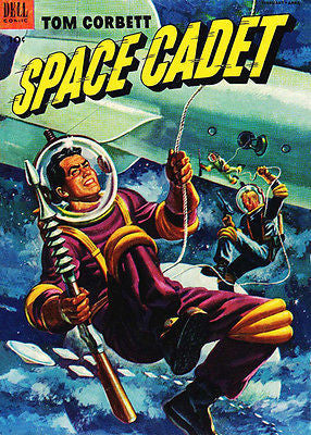 Tom Corbett, Space Cadet #5 - Comic Book Cover Poster