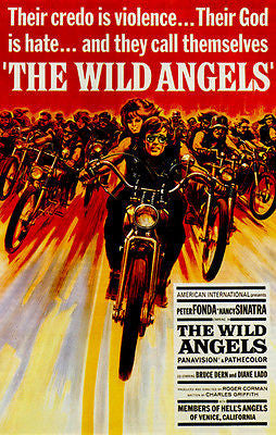 The Wild Angels - 1966 - Movie Poster