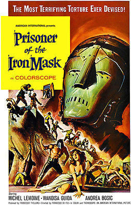 Prisoner Of The Iron Mask - 1961 - Movie Poster