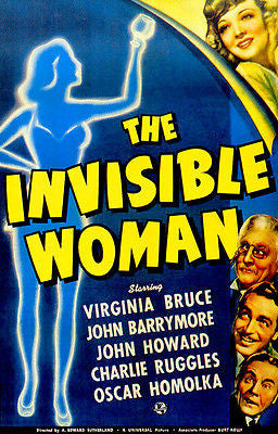 The Invisible Woman - 1940 - Movie Poster