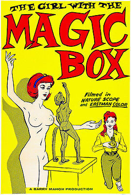 The Girl With The Magic Box - 1965 - Movie Poster