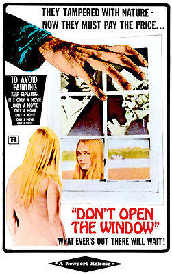 Don't Open the Window - 1974 - Movie Poster
