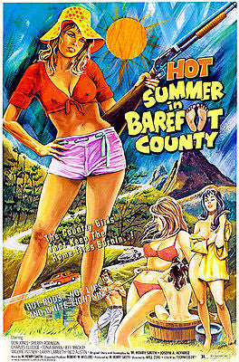 Hot Summer in Barefoot Country - 1974 - Movie Poster