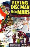 Flying Disc Man From Mars - 1950 - Movie Poster