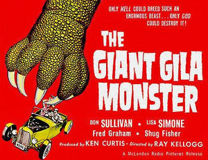 The Giant Gila Monster - 1959 - Movie Poster Magnet