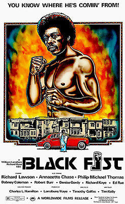 Black Fist - 1974 - Movie Poster