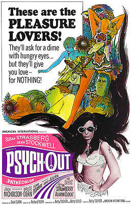 Psych-Out - 1968 - Movie Poster