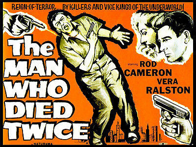 The Man Who Died Twice - 1958 - Movie Poster