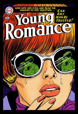 Young Romance - November 1967 - Comic Book Cover Magnet