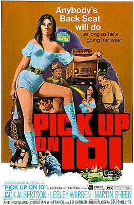 Pick Up on 101 - 1972 - Movie Poster