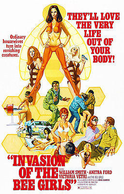 Invasion of the Bee Girls - 1973 - Movie Poster