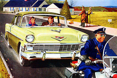1956 Chevrolet Two-Ten - Promotional Advertising Poster