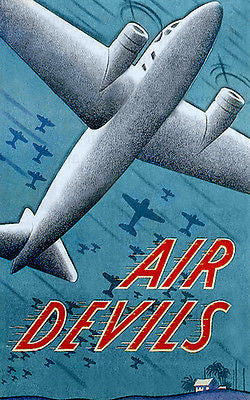 Air Devils - 1938 - Movie Poster