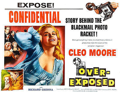 Over-Exposed - 1956 - Movie Poster