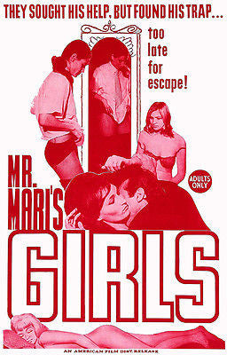 Mr. Mari's Girls - 1967 - Movie Poster