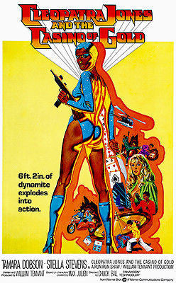Cleopatra Jones and the Casino of Gold - 1975 - Movie Poster