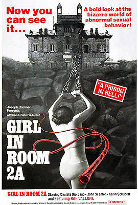 Girl In Room 2A - 1974 - Movie Poster