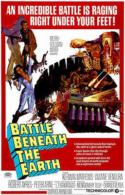 Battle Beneath The Earth - 1967 - Movie Poster