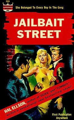 Jailbait Street - 1963 - Pulp Novel Cover Mug