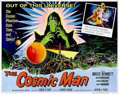 The Cosmic Man - 1959 - Movie Poster