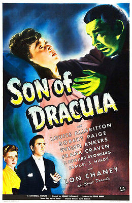 Son of Dracula - 1943 - Movie Poster
