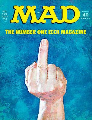 MAD Magazine #166 - April 1974 - Cover Magnet