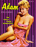 Adam - Volume 4 No 2 - 1950's - Magazine Cover Poster