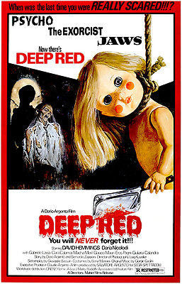 Deep Red - 1975 - Movie Poster