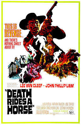 Death Rides A Horse - 1966 - Movie Poster