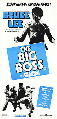 The Big Boss - Bruce Lee - 1971 - Movie Poster