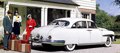 1949 Lincoln Cosmopolitan Sport Sedan - Promotional Advertising Poster