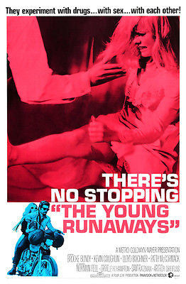 The Young Runaways - 1968 - Movie Poster
