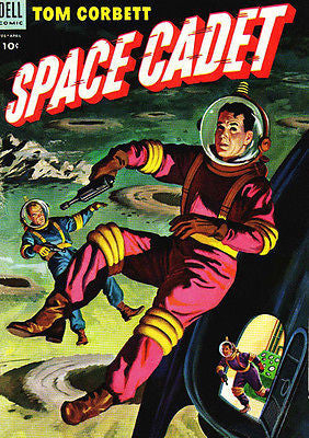 Tom Corbett, Space Cadet #9 - Comic Book Cover Poster