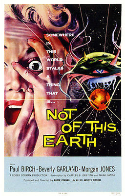 Not of This Earth - 1957 - Movie Poster
