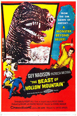 The Beast of Hollow Mountain - 1956 - Movie Poster