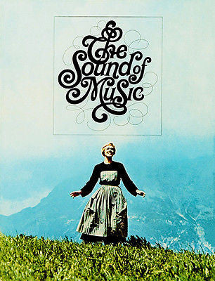 The Sound of Music - 1965 - Movie Poster