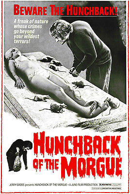 Hunchback of the Morgue - 1973 - Movie Poster