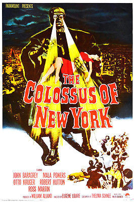 The Colossus of New York - 1958 - Movie Poster