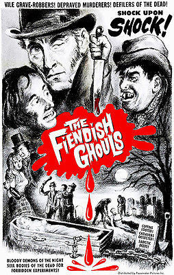 The Fiendish Ghouls - 1960 - Movie Poster