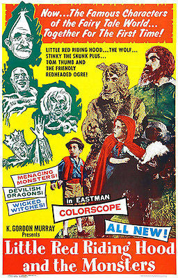 Little Red Riding Hood And The Monsters - 1962 - Movie Poster