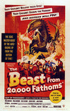 The Beast From 20,000 Fathoms - 1953 - Movie Poster