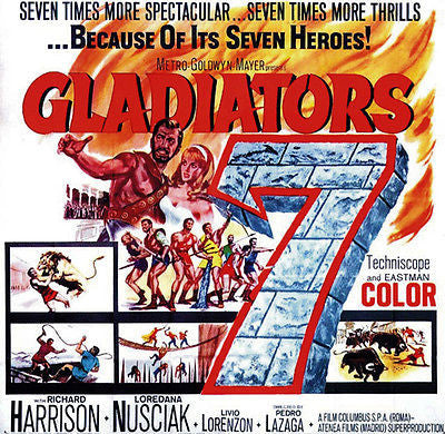 Gladiators 7 - 1962 - Movie Poster